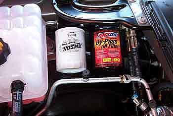 Amsoil by-pass kits are simple to use and install. Filters are rated for extended intervals.
