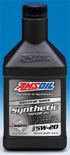 Amsoil alm 5w20 100 synthetic signature series for Amsoil 5w30 signature series 100 synthetic motor oil