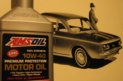 The only fully fortified synthetic oil for vintage cars with flat tappets.