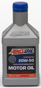 Amsoil Synthetic 20w50 Diesel And Gasoline Motor Oil