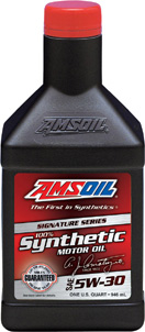 AMSOIL Signature Series 5W-30 100% Synthetic Motor Oil