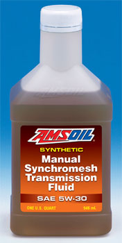 amsoil mtf synthetic synchromesh transmission fluid rh syntheticwarehouse com Valvoline Synchromesh Manual Transmission Fluid amsoil synthetic manual synchromesh transmission fluid sae 5w-30
