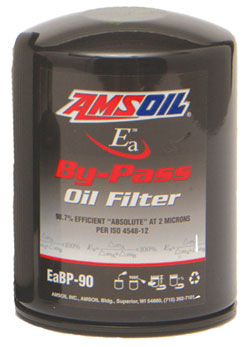 New Amsoil EaBP bypass oil filter - good for up to 60,000 miles