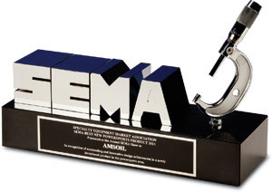SEMA votes Amsoil's Quickshot product of the year!