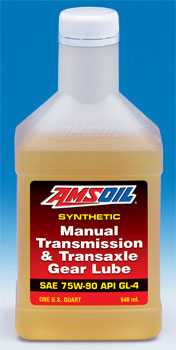 AMSOIL MTG offers synchro protection and 75W90 GL-4 Performance!
