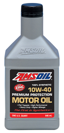 amsoil 10W40 high zinc